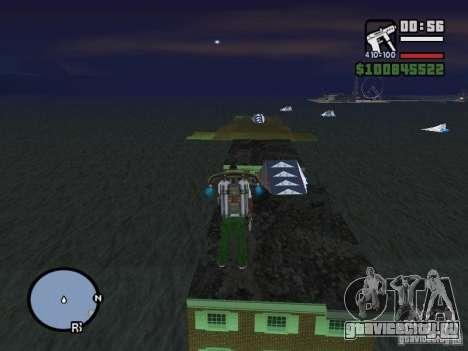 Night moto track V.2 для GTA San Andreas третий скриншот
