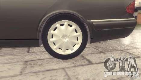 Mercedes-Benz E320 Funeral Hearse для GTA San Andreas вид сзади
