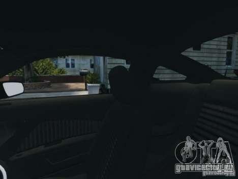 Ford Mustang GT 2011 для GTA 4 вид сверху