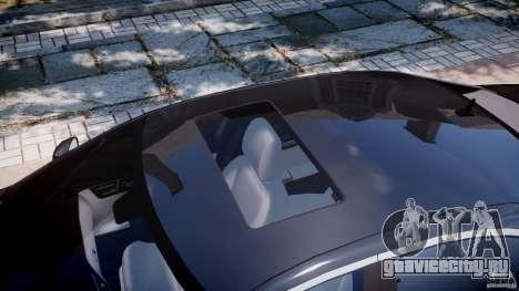 Mercedes-Benz S600 w221 для GTA 4 вид сверху