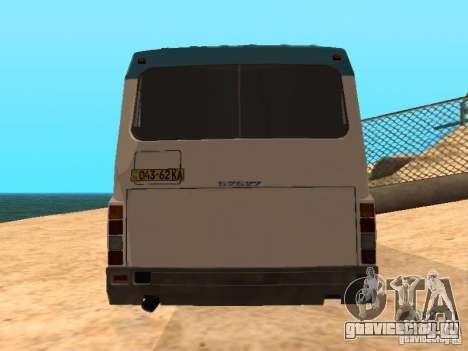 ЛАЗ 52527 для GTA San Andreas вид сзади слева