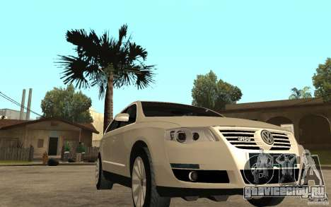 Volkswagen Passat Variant 2010 для GTA San Andreas вид сзади