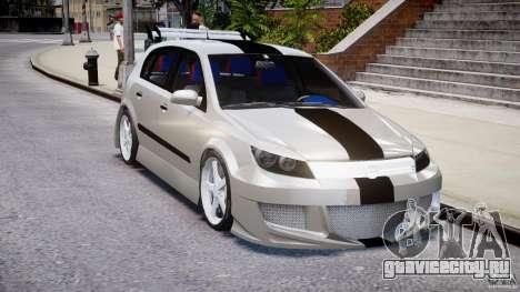 Opel Astra 1.9 TDI 2007 для GTA 4 вид изнутри