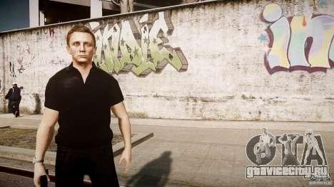 Скин Джеймса Бонда для GTA 4 пятый скриншот