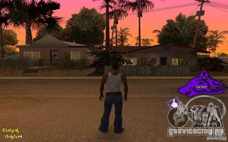 C-HUD by Roodney для GTA San Andreas второй скриншот