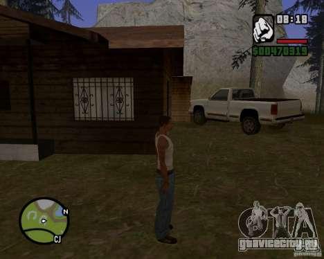 Дом охотника v1.0 для GTA San Andreas второй скриншот