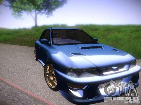 Subaru Impreza 22b Tunable для GTA San Andreas вид слева