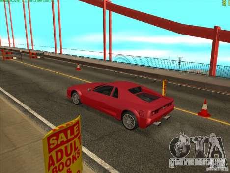 Такомский Мост (Tacoma Narrows Bridge) для GTA San Andreas пятый скриншот