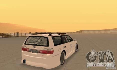 Nissan Stagea GTR для GTA San Andreas вид слева