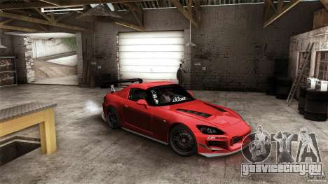 Honda S2000 JDM для GTA San Andreas вид снизу