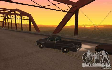 Chevrolet Apache Fleetside 1958 для GTA San Andreas вид слева