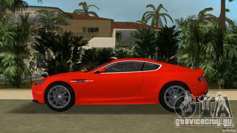 Aston Martin DBS V12 для GTA Vice City вид слева