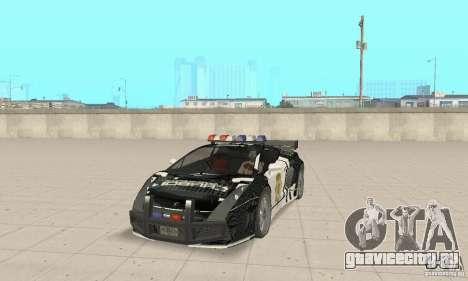 Lamborghini Gallardo Cop V1.0 для GTA San Andreas