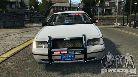 Ford Crown Victoria Police Unit [ELS] для GTA 4 вид снизу