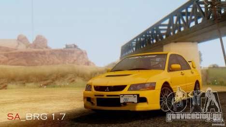 SA Beautiful Realistic Graphics 1.7 BETA для GTA San Andreas