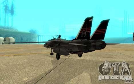 F-14A Screaming Eagles VF-51 для GTA San Andreas вид справа