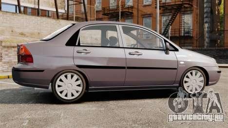 Suzuki Liana GLX 2002 для GTA 4 вид слева