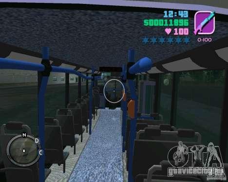Marcopolo Bus для GTA Vice City вид сбоку