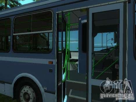 ЛиАЗ 5256-25 для GTA San Andreas вид снизу