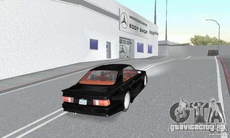 Mercedes-Benz C126 500SEC KS для GTA San Andreas вид слева