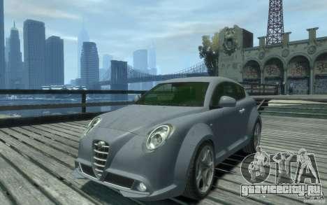 Alfa Romeo Mito для GTA 4