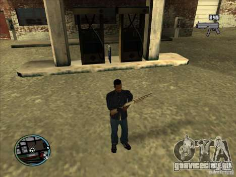 SA IV WEAPON SCROLL 2.0 для GTA San Andreas
