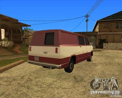 Transporter 1987 - GTA San Andreas Stories для GTA San Andreas вид сзади слева