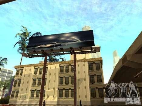 Новые текстуры центра Лос-Сантоса для GTA San Andreas шестой скриншот