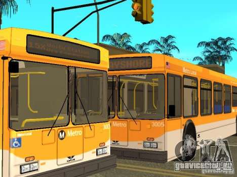 New Flyer D40LF для GTA San Andreas