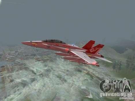 FA-18D Hornet для GTA San Andreas