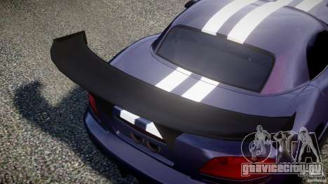 Dodge Viper RT 10 Need for Speed:Shift Tuning для GTA 4 вид сбоку