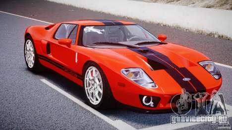 Ford GT 2006 v1.0 для GTA 4 вид сзади