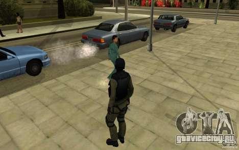 CJ-спецназ для GTA San Andreas четвёртый скриншот