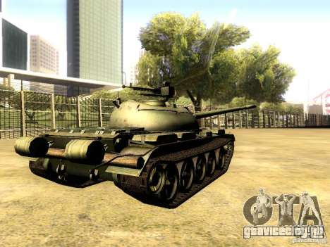 Type 59 V2 для GTA San Andreas вид сзади слева