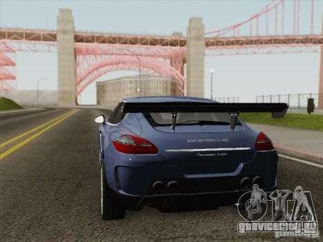 Porsche Panamera Turbo 2010 для GTA San Andreas вид сбоку