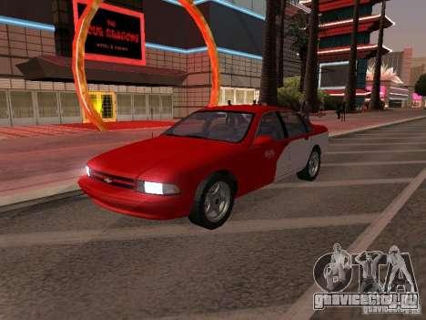 Chevrolet Impala SS 1995 для GTA San Andreas вид сверху