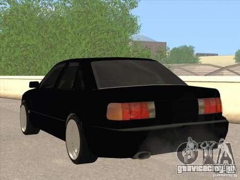 Audi 100 для GTA San Andreas вид сзади слева