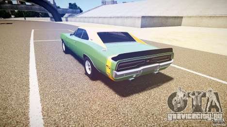 Dodge Charger RT 1969 tun v1.1 для GTA 4 вид сбоку
