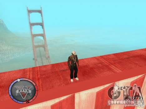 GTA 5 HUD для GTA San Andreas пятый скриншот