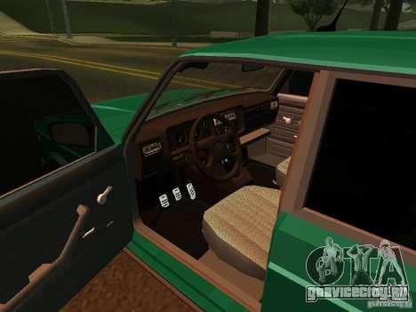 ВАЗ 21047 для GTA San Andreas вид сзади