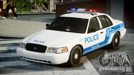 Ford Crown Victoria CVPI-V4.4M [ELS] для GTA 4