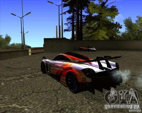 Pagani Huayra SHE для GTA San Andreas