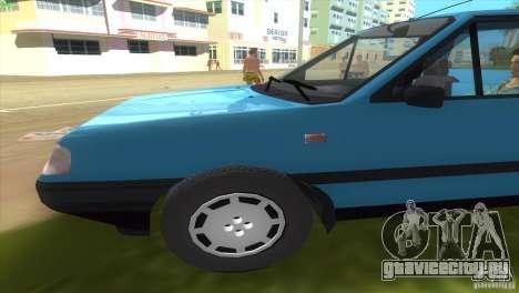FSO Polonez Truck для GTA Vice City вид слева