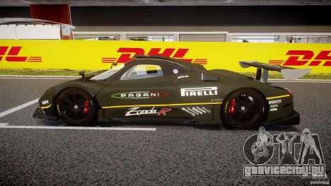 Pagani Zonda R 2009 для GTA 4 вид слева