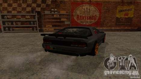 GTA Shift 2 Mazda RX-7 FC3S Speedhunters для GTA San Andreas вид слева