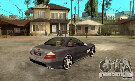 Mercedes-Benz SL65 AMG 2010 для GTA San Andreas вид справа
