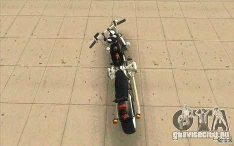 Днепр Зверь v2 Ольга для GTA San Andreas вид сзади