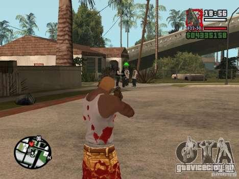 BulletStorm M4 для GTA San Andreas третий скриншот