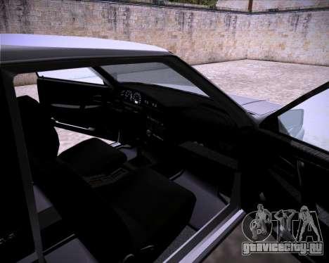Lada Samara 2113 для GTA San Andreas вид сзади