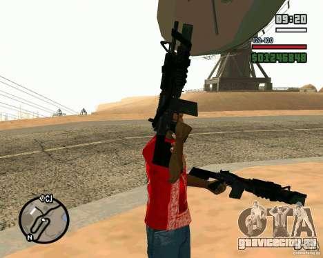 Black Ops Commando для GTA San Andreas второй скриншот